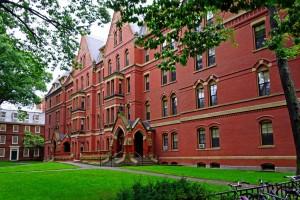 Одно из зданий Гарвардского Университета